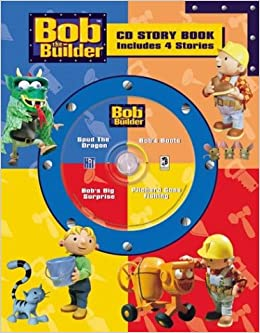 Bob The Builder Cd Story Book 4-In-1 (Bob the Builder Cd