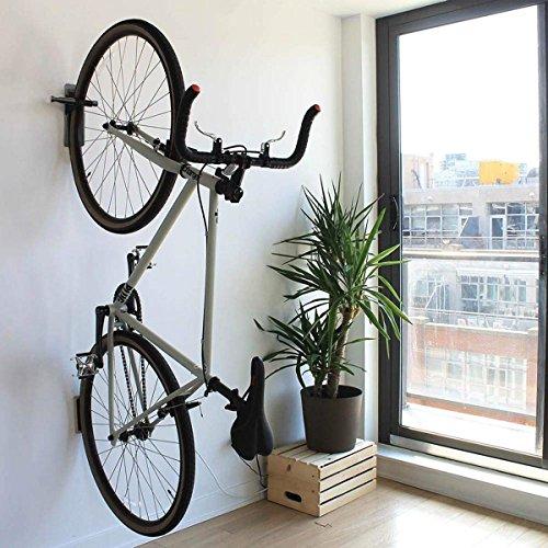 Maxfind Pedal Hook Deluxe Bike Rack Garage Wall Mount Bike Hanger Storage Horizontal (Multi-Use Bike Hook)
