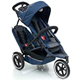 phil&teds Inline Sport Buggy w DOUBLES KIT (Navy)