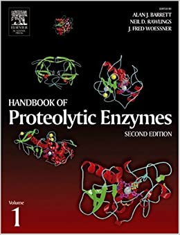 Book Handbook of Proteolytic Enzymes, Two-Volume Set with CD-ROM