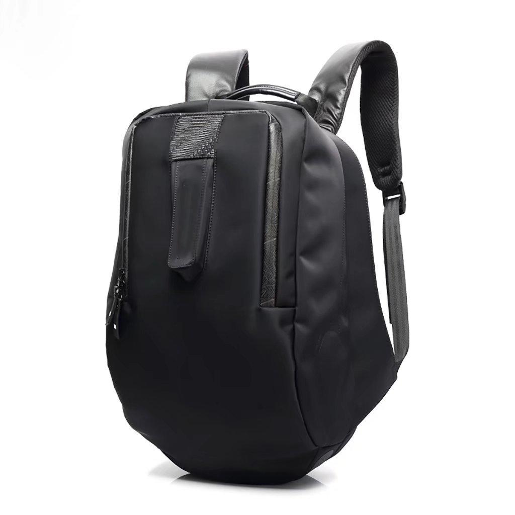 新しいオリジナルのシンプルなカジュアルなビジネスショルダーバッグの男性防水盗難防止ライト旅行コンピュータのバックパックのファッションバッグ   B075V7LKH1