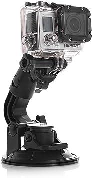 Se adapta a GoPro 2 3 3 4 5 estándar 6 Hebilla de liberación rápida de montaje en superficie horizontal