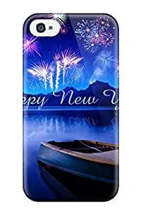 AnnDavidson SFzLVQO7300hKVub Case For Iphone 4/4s With Nice Happy New Year For Facebook Appearance