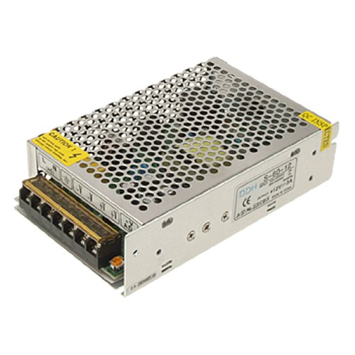 AC 110-220V DC 12V 5A 60W Switching Power Supply Driver for LED Light Strip