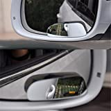 Autumn Water 2Pcs/Set Car Styling Blind Spot Mirror Auto Rear View Mirror Safety Blind Spot Mirror 360 Degree Adjustable Wide Angle View