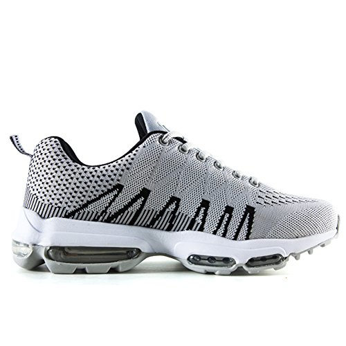 Cushion Shoes Sneaker For Fitness Running Men Shoes Sports Flexible Grey Gym Walking Air Professional 6X41qwn
