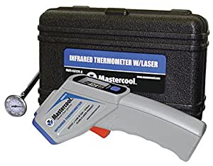 Mastercool (52224-A-SP) Gray Infrared Thermometer with Laser