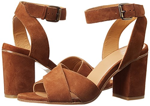 Cognac Atelier Brown Sandals Sonya 12429 Strap Voisin Camurca Ankle Women's 4x8qB4Hr