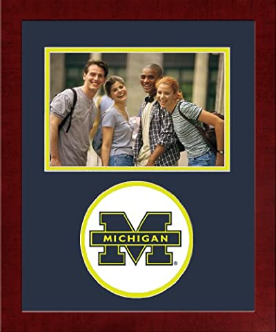 NCAA Michigan Wolverines University Spirit Photo Frame (Horizontal) - University Spirit Diploma Frame