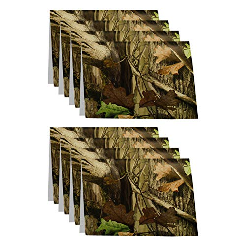 Havercamp Camo Party Invitations and Envelopes (8 Pack) Hunting Camo Party Collection