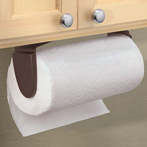 interdesign wingo paper towel holder for kitchen wall mount under cabinet bro ebay. Black Bedroom Furniture Sets. Home Design Ideas