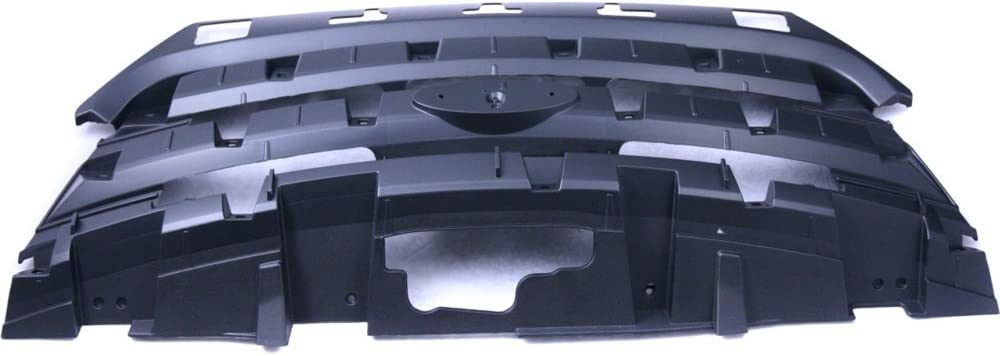 Header Panel Compatible with Pontiac Grand AM 99-05 Headlight Panel Assembly CAPA Certified