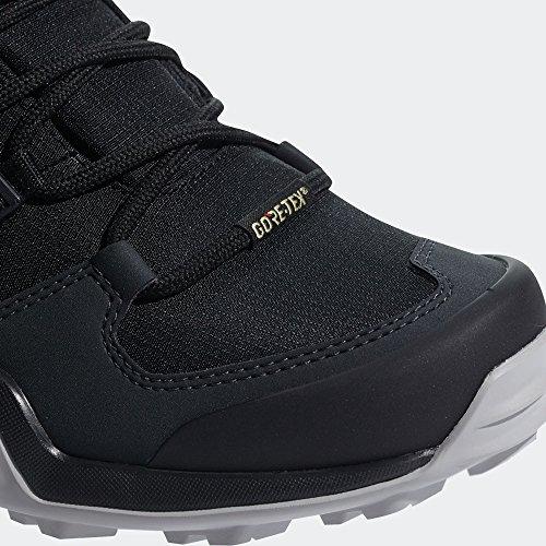 adidas Terrex Swift R2 Mid GTX W, Botas de Senderismo Para Mujer Negro (Negbas / Negbas / Vercen 000)