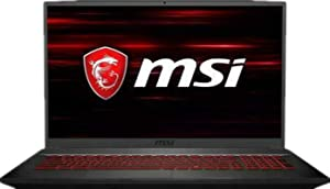 "2019 MSI GF75 Laptop 17.3"" 120Hz FHD Gaming Computer