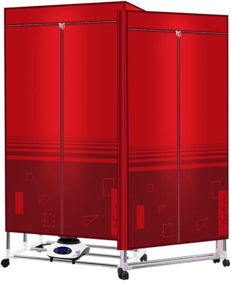 FORWIN UK- Temporizador automático Digital de Modo de Secado rápido y eficiente de Secadora Plegable para el hogar con Control Remoto, 2000W
