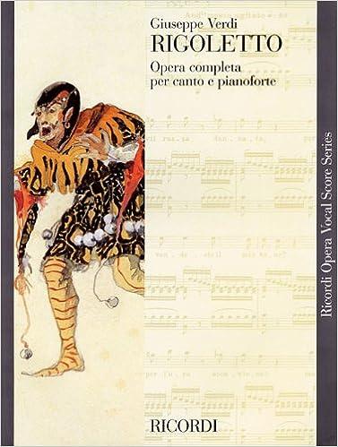 Rigoletto Vocal Score