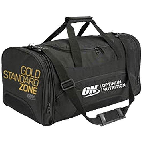 Sac de sport Optimum Nutrition - Édition « Gold Standard Zone » - Sac de gym, pour entraînement - Couleur: noir. Optimum Nutrition Bag
