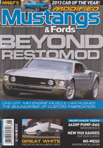 Modified Mustangs & Fords Magazine January 2014