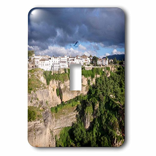 3dRose Danita Delimont - Mountains - Spain, Andalusia, Ronda. - Light Switch Covers - single toggle switch (lsp_277901_1) by 3dRose