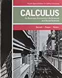 Calculus for Business, Economics, Life Sciences, and Social Sciences 4th Edition