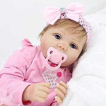 Amazon.es: SYP 22 Pulgadas 55 cm Realista Reborn bebé ...