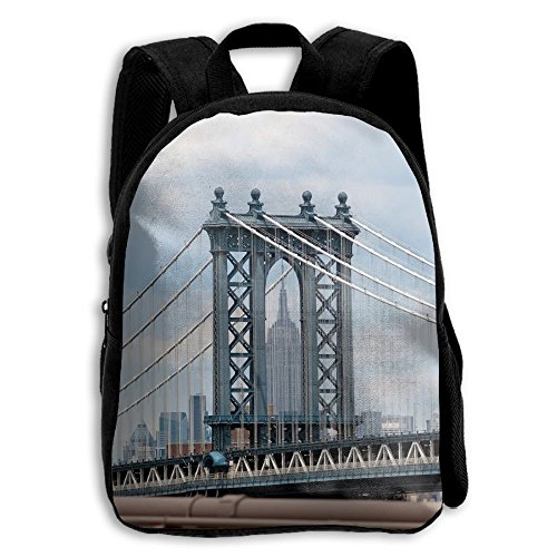 (The Children's State Building View Through Manhattan Bridge Backpack)