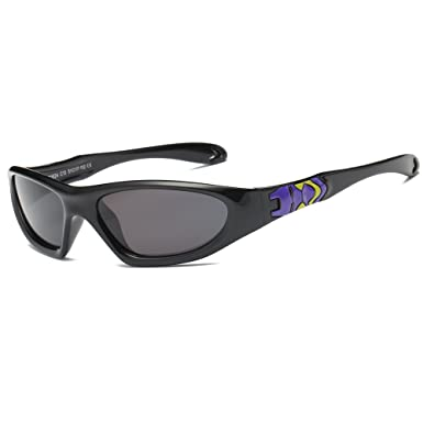 ddaec8e9c2a SojoS Kids Rubber Flexible Batman Polarised Sunglasses for Baby Age 3-10  SK211 with Black