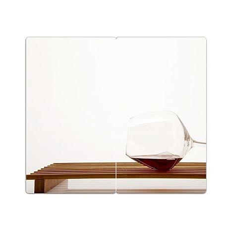 placa de cucervezata de la estufa con grano conjunto de 534 tabla de cortar vidrio vino