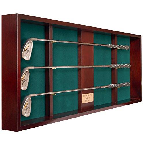 Golf Club Shadow Box Display (3 Clubs) ()