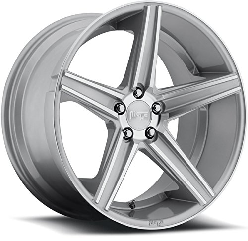 Niche Apex 20 Silver Wheel / Rim 5x112 with a 25mm Offset and a 66.6 Hub Bore. Partnumber M125208543+25