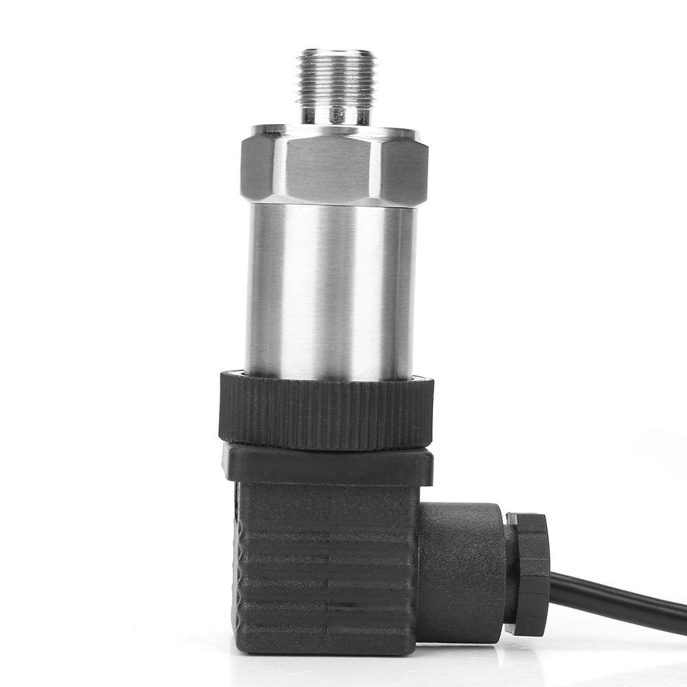 0-10MPA 4-20mA Pressure Sender Pressure Transmitter Pressure Transducer Sensor with G1//4 Connector for Oil Fuel Gas Air Water Pressure Transducer
