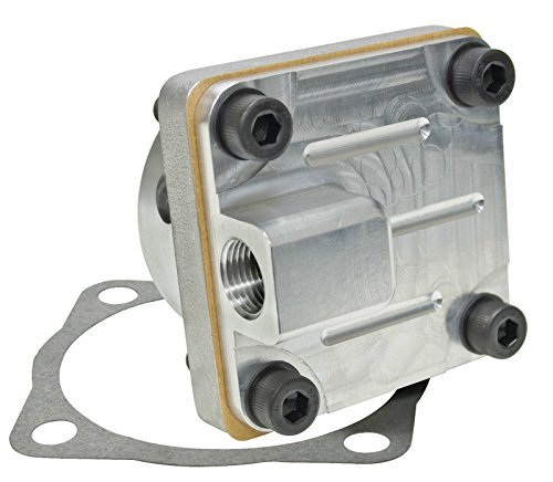 Aluminum Gear Pump - EMPI 16-9716 Aluminum Full Flow Pump Kit, thru 70 Flat Cam Gear, VW Bug, Baja, Volkswagen, Sand Rail, Sand Buggy