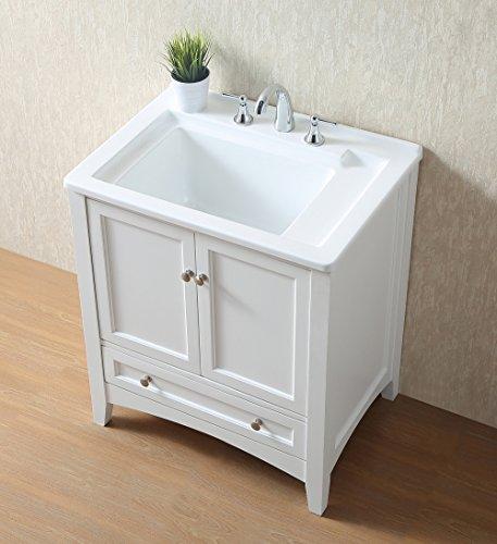 Stufurhome GM-Y01W 30.5-Inch Pure White Single Laundry Sink by Stufurhome (Image #9)