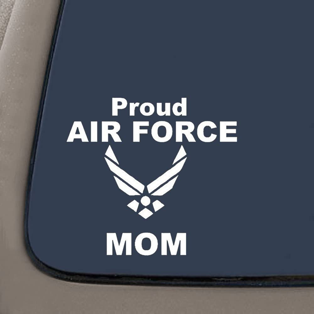 Proud Air Force Mom Vinyl Car Truck Window Decal Bumper  Sticker US Seller