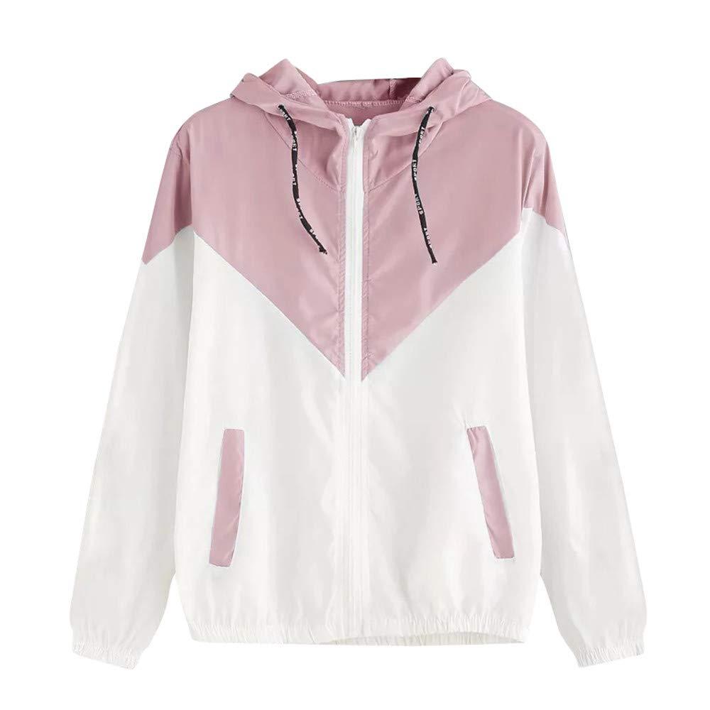 e5abc065544 Seaintheson Women s Coats SWEATER レディース B07HKQZJYS ピンク Medium