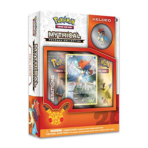Booster Generations (Pokemon Cards Pokemon TCG: 2016 Mythical Pokemon Pin Collection—Keldeo)