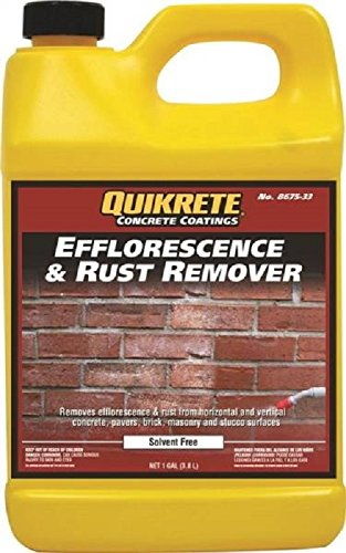 (QUIKRETE 8675-33 Concrete Efflorescence Oil Rust Removes)