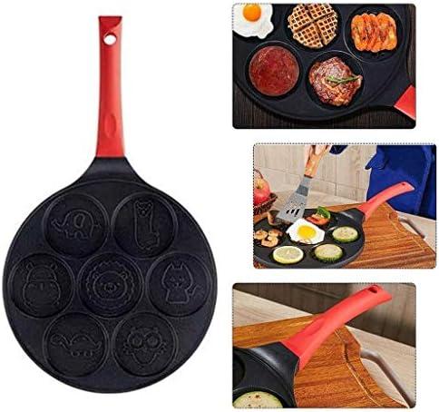 TJLSS Fonte Grill Pan antiadhésives Poêle Haut Griller Pan for Four et légumes Heavy Duty Fonte Poêles Grill for Cuisinière électrique Hauts ou de gaz