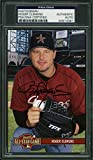 Astros Roger Clemens Signed 3.75x5.75 All Star Game Photo Slabbed - PSA/DNA Certified - Baseball Slabbed Autographed Cards