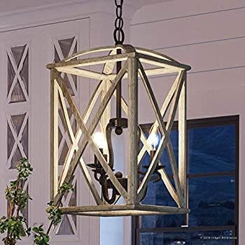 Luxury Farmhouse Chandelier Large Size 19 5 Quot H X 40 75 Quot W With Tuscan Style Elements Wood