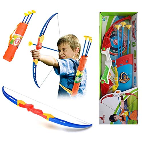 """""""R K GIFT GALLERY""""Kids Archery Bow and Arrow Toy Set with Target Board Outdoor Garden Fun Game"""