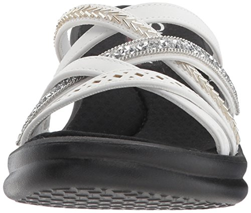 White Wedges Rumbler Women's Wave Skechers Lassie New POaYgpqwq