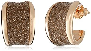 Pesavento Polvere Rose Gold-Plated Sterling Silver Huggie Earrings