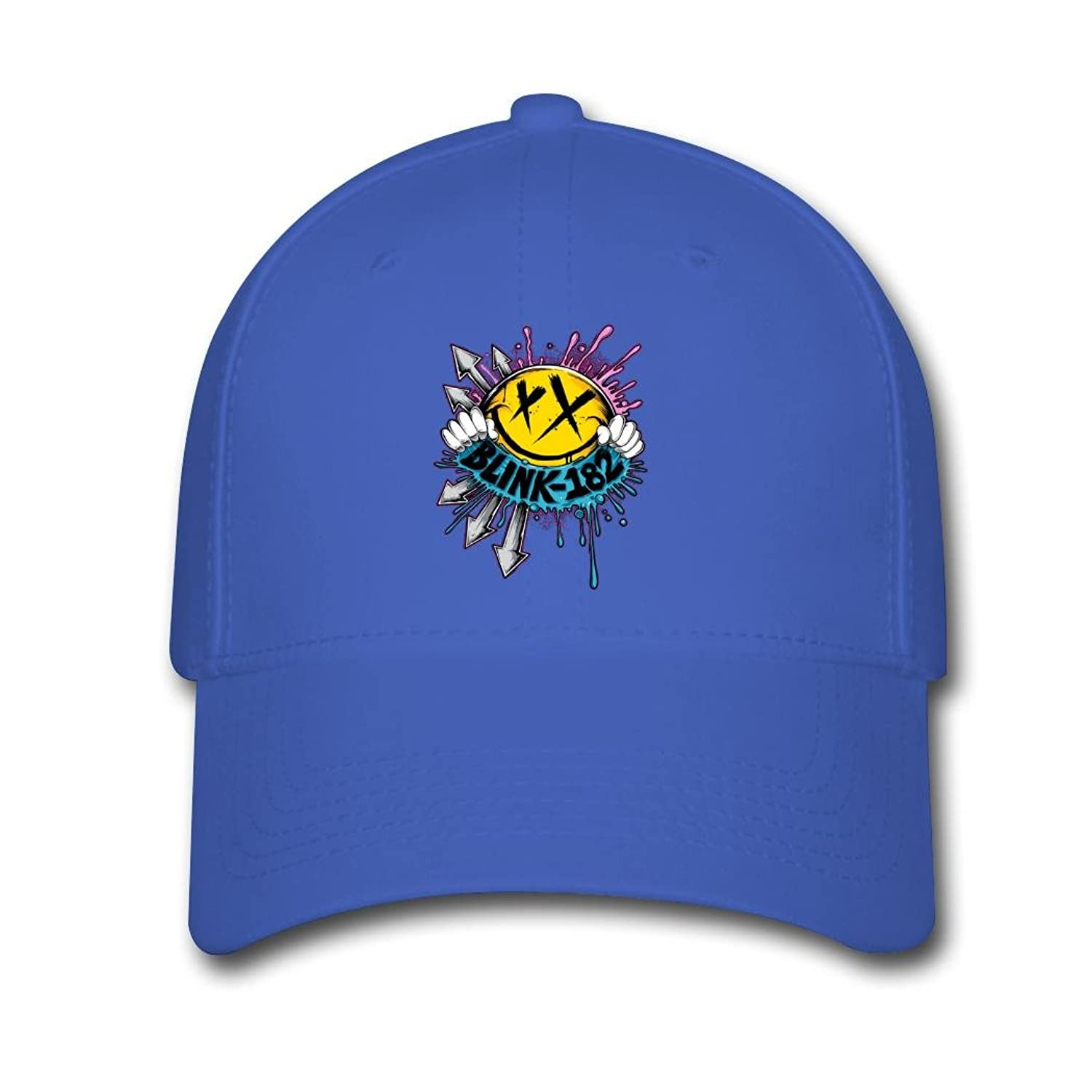 MUKIY Blink 182 With Both Hands Design Baseball Caps adjustable hats