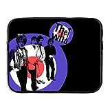 VOLTE THE WHO English Rock Band Logo Anti-shock Notebook Zipper Bag Size 13 Inch
