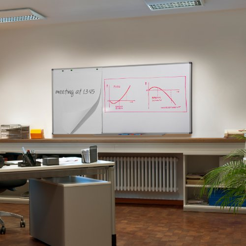 Magnetic White Board | Dry Erase Board | # 1 in Europe | Excellent for Office and Home - 48'' x 36'' by Master of Boards (Image #1)