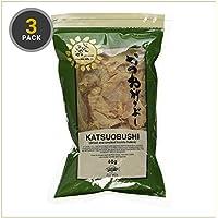 Katsuobushi (essiccato e affumicato Bonito Fiocchi) 40g (3 Pack)