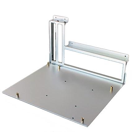 Amazon.com: Soporte de aleación de aluminio caso de ITX mATX ...