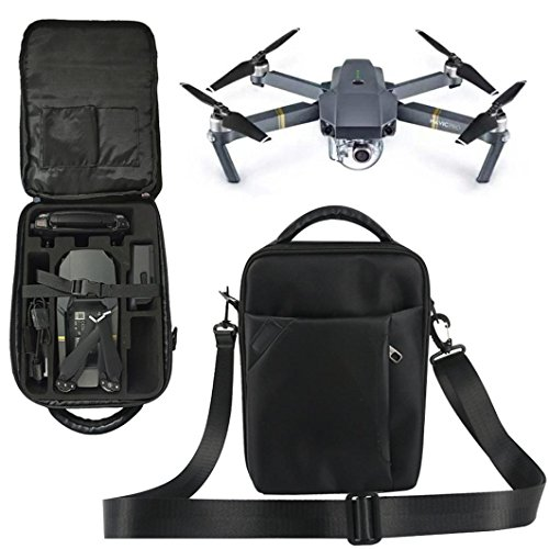 DZT1968 Outdoor Durable Shockproof Shoulder Waterproof Large Capacity Box Suitcase Bag For DJI Mavic Pro RC Quadcopter by DZT1968