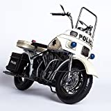 CYXStar Military Motorcycle Model Handmade Iron Motorcycle Model Vintage Car Model For Home Decor (Police(1978))